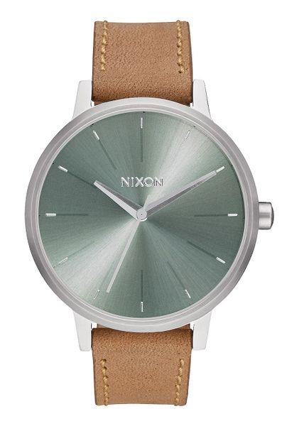 Nixon Kensington Leather 'Saddle / Sage'