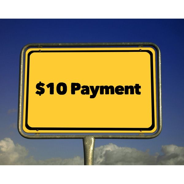 $10.00 Payment