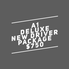 A1. Adult Deluxe New Driver Package