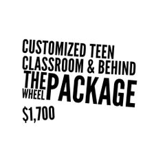 Customized Teen Course