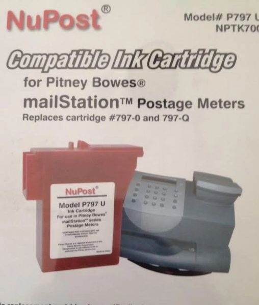 Pitney Bowes Mail Station Red 797-O 797-Q 797-U
