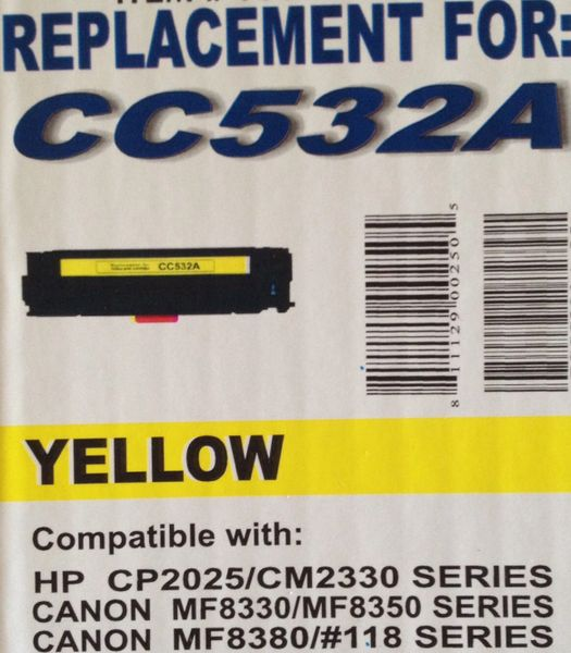 HP CC532A (304A) Yellow Toner Cartridge