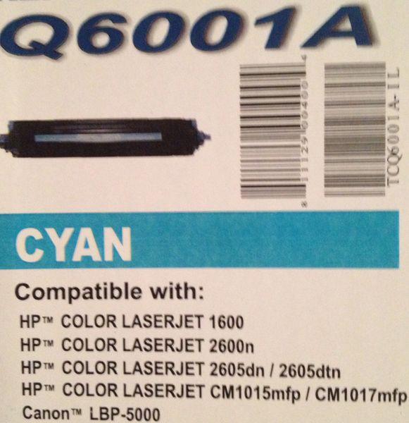 HP 6001A Cyan