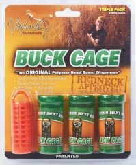 Buck Cage Hunter Orange Triple Pack