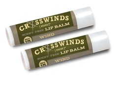 Scent-Free Lip Balm Wind Dual Pack