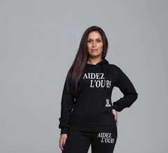 Aidez L'Ours Hoodie
