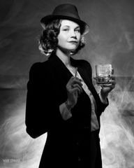 Old Hollywood/Film Noir Inspired Portrait Session