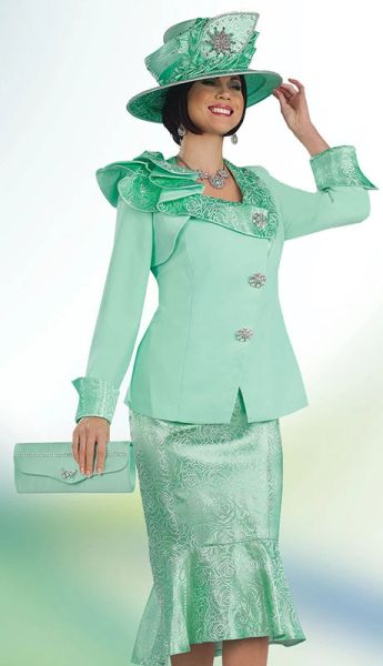 Discount Women S Dress Suit Mint Green Mother Of The Bride Dress