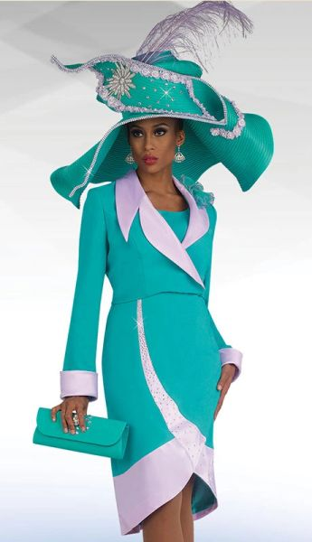 Women S Designer Suit With Matching Hat Discount Quality Clothing