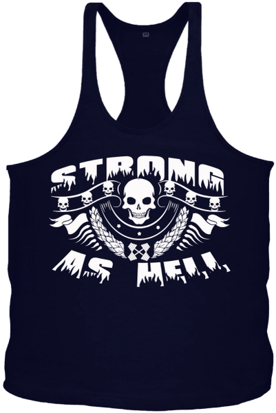 Strong As Hell String Tank