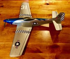 Custom P-51 Speed Plane