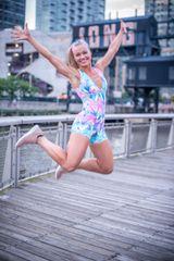 Natalie style Volleyball Bodysuit