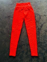 Orange Crunch Leggings