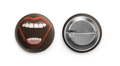 Scream Queen Button by MiVida JDM Art