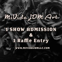 MIVIDA JDM ART SHOW ADMISSION PASS (CONSULT FIRST)