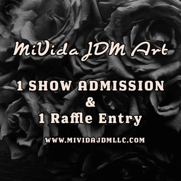 MIVIDA JDM ART SHOW ADMISSION PASS