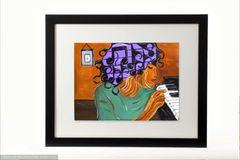 Melodious Mind Framed Print