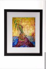 Elemental Elegance Framed Print