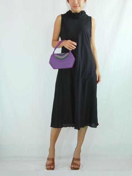 Cute Cotton Casual Beach Women Black Dress A Shape Knee Length