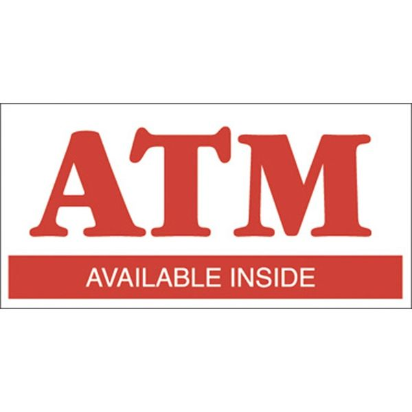 ATM Decal Sticker
