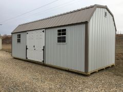 12x24 Buckskin Amish Shed