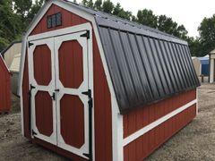 8x12 Red Barn