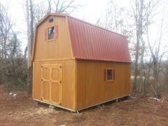 14 X 20 Cedar 2 Story Barn