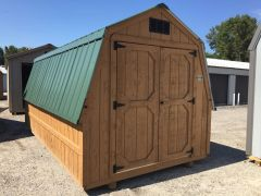8x12 Cedar/Evergreen Wall Barn