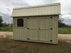 10x12 Amish Palmetto Barn