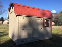 10x12 Amish Cottonwood