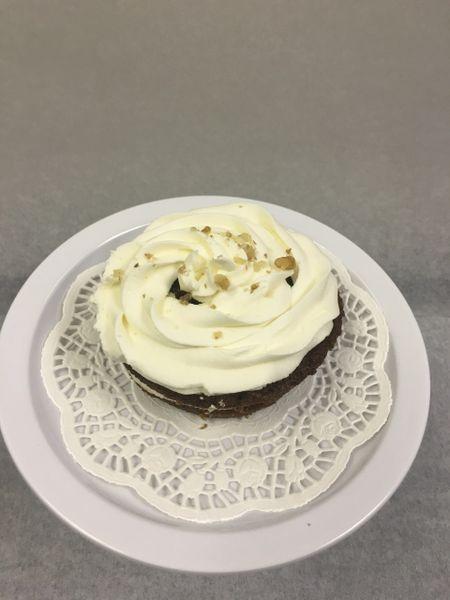 VEGAN Mini Carrot Cake with Cream Cheese Icing 1/2 Dozen