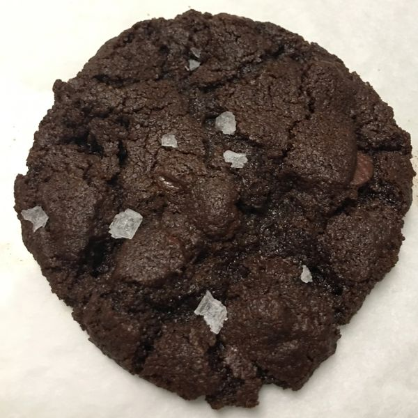 VEGAN SEA SALT BROWNIE COOKIES 1/2 DOZEN