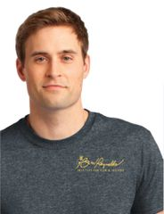 Burt Reynolds Institute Logo T-Shirt - Dark Heather