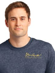Burt Reynolds Institute Logo T-Shirt - Heather Navy