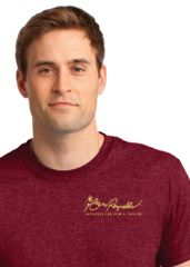 Burt Reynolds Institute Logo T-Shirt - Antique Cherry Red