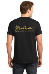 Burt Reynolds Institute Logo Black T-Shirt
