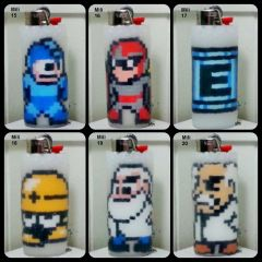 Mega Man Lighter Cases - Mili