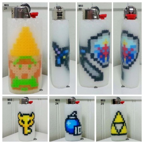 Zelda Lighter Cases - Mili