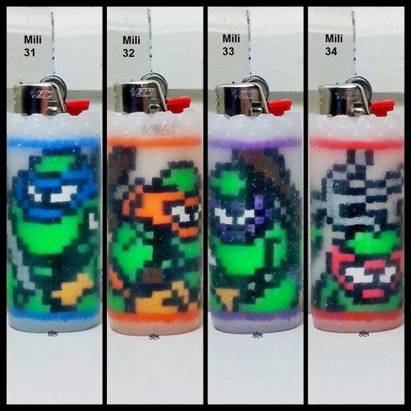 TMNT Lighter Cases - Mili