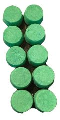 Spearmint Shower Fizzers 10 pieces Use in the shower, or for travel