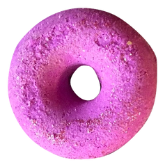 Lavender Donut Bath Fizzer with essential oil...Relaxing!