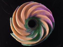 Extreme Pinwheel Soap! One-of-a-kind gift item. Unscented goat milk, with cosmetic grade color. Over 3 and a half pounds!