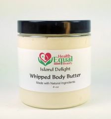 Island Delight scented body butter 8 oz