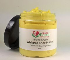 NATURAL Whipped Shea Butter 8 oz jar