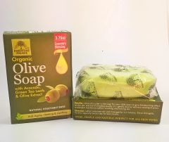 All Natural Organic Moisturizing Olive Soap 3.75 oz
