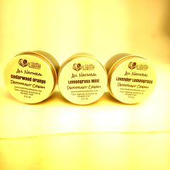 Value 3 Pack All Natural Deodorant Cream