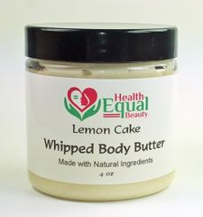 Lemon cake scented body butter 4 oz