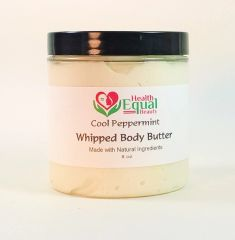 Cool Peppermint body butter 8 oz