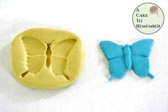 Fancy butterfly mold for cake decorating, cupcake decorating or polymer clay