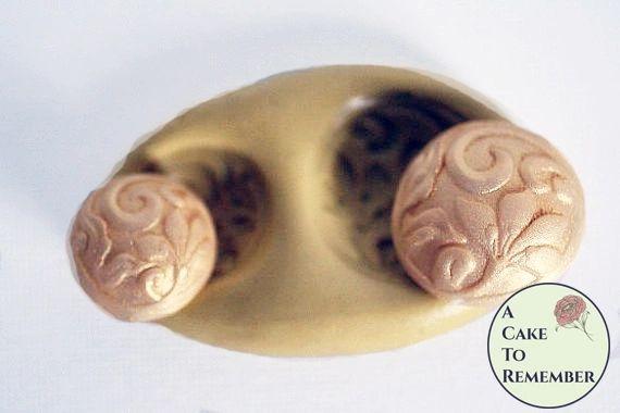 Silicone button mold set M30